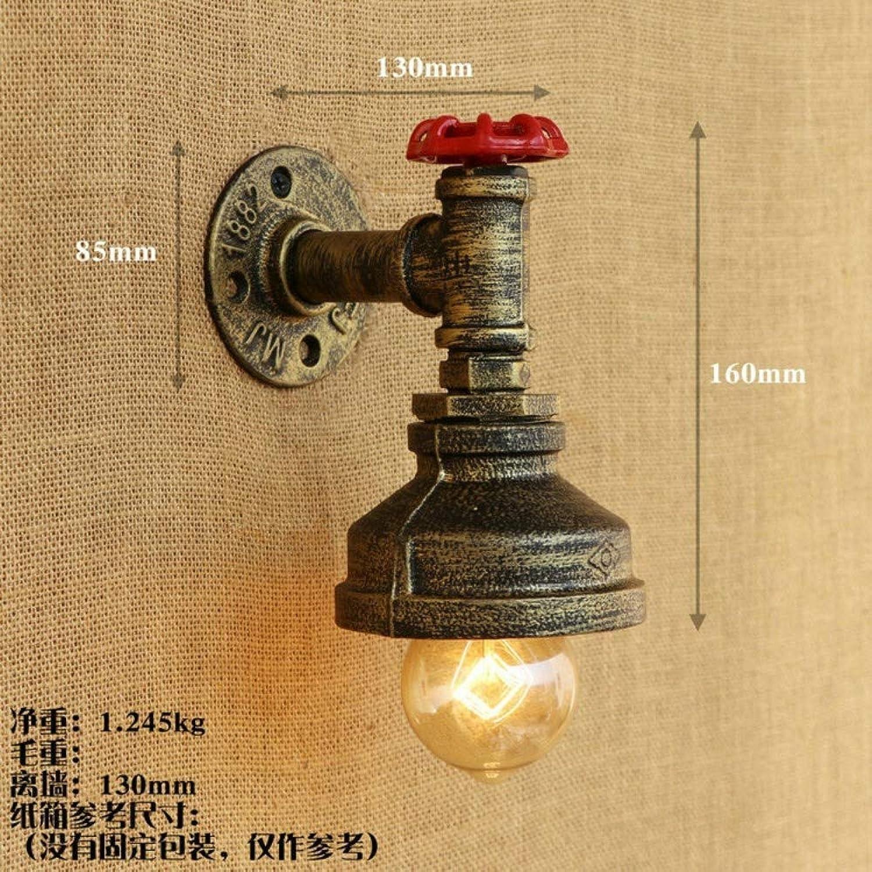 Nostalgische Wasserleitungs-Wandlampe des Schmiedeeisen-Restaurantschlafzimmers, B2