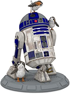 Hallmark Keepsake Christmas Ornament 2018 Year Dated, Star Wars R2D2 Porgs of a Feather, The The Last Jedi