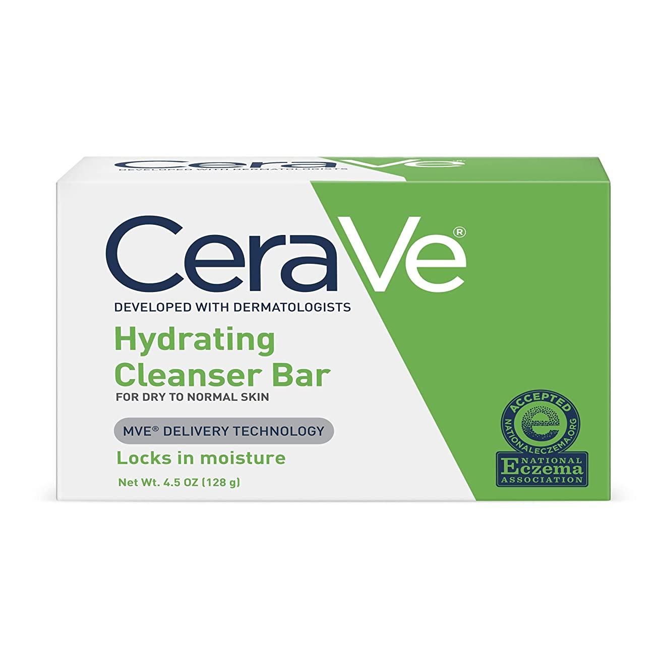 CeraVe 正常皮膚とハイドレイティングクレンザーバードライ - 4.5オズ、5パック