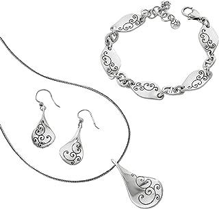 Brighton Twirl Gift Set [Necklace, Bangle, Earrings]