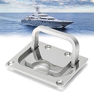 CCChaRLes Anneau en acier inoxydable 316 Poignée à tirer Loquet Loquet Yacht à encastrer Montage Quincaillerie de levage A...