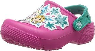 Crocs Girls' Fun Lab Frozen Clog K, Candy Pink, 2 M US Little Kid