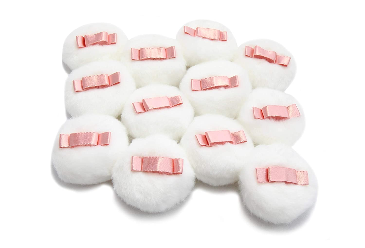 WITCOE 12pcs 2.1 Inch Ranking TOP18 Fluffy Loose for Puff White Powder El Paso Mall