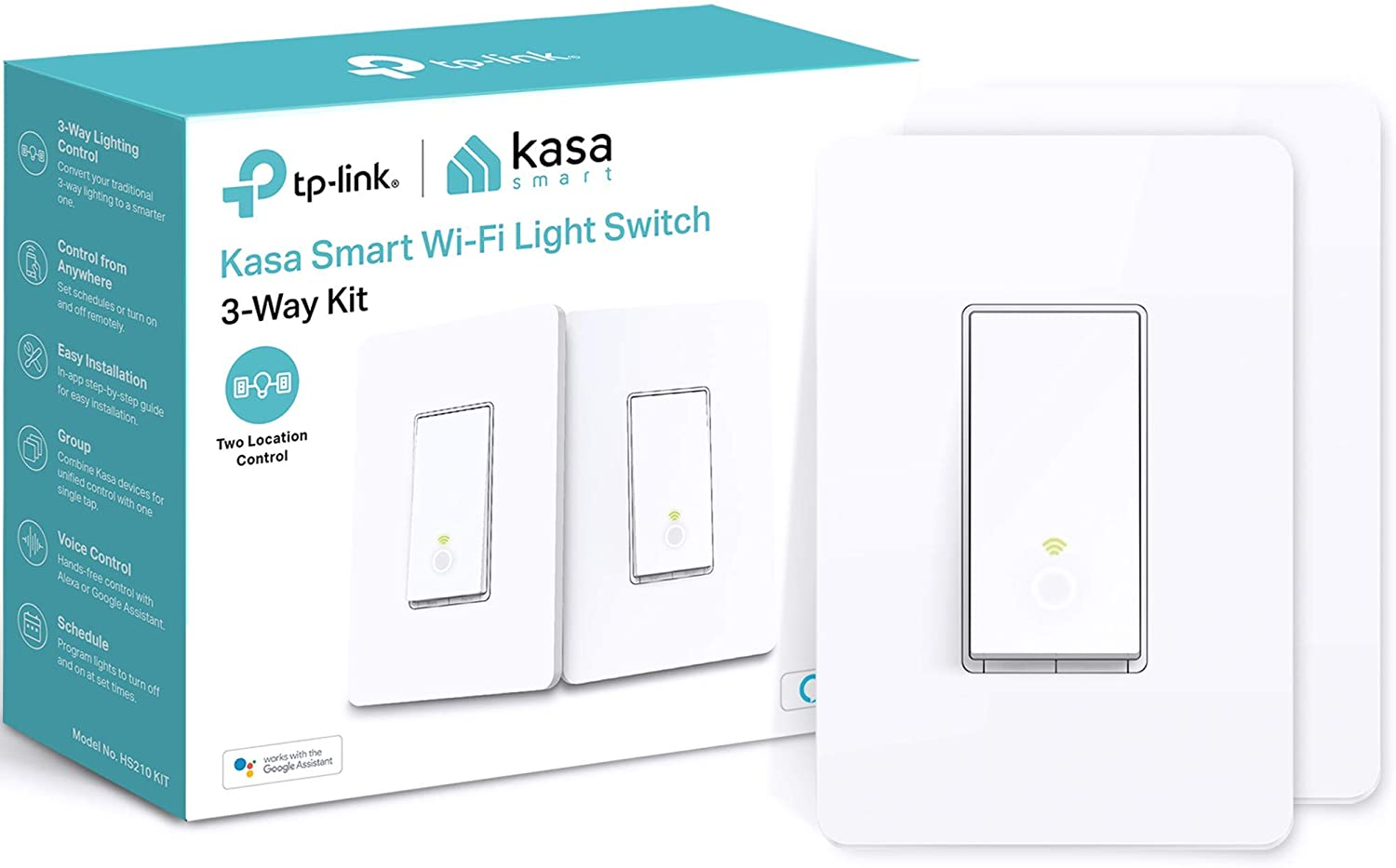Kasa Smart 3 Way Switch HS210 Wi Large Arlington Mall special price KIT Neutral Needs Wire 2.4GHz