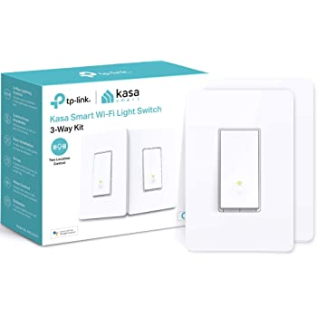 Kasa 3 Way Smart Switch Kit by TP-Link, Wi-Fi Light Switch works with Alexa and Google Home, Neutral Wire Required, No Hub Required, UL Certified, 2-Pack(HS210 KIT)