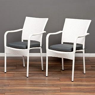 Suchergebnis Auf Amazonde Für Polyrattan Stuhl Weiß