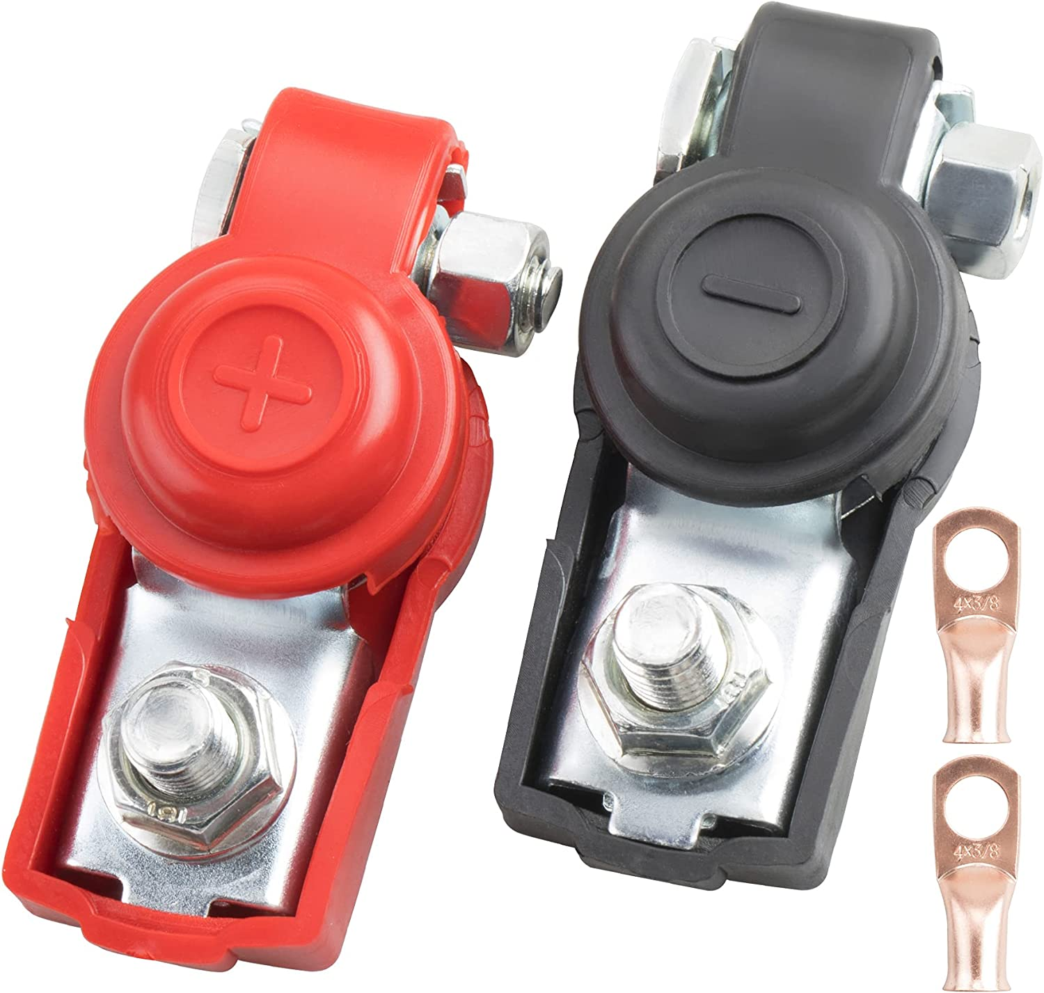 ORAEVY Car Sale special price Battery Cable Clamps,Negative Clearance SALE Limited time and Terminal Posit