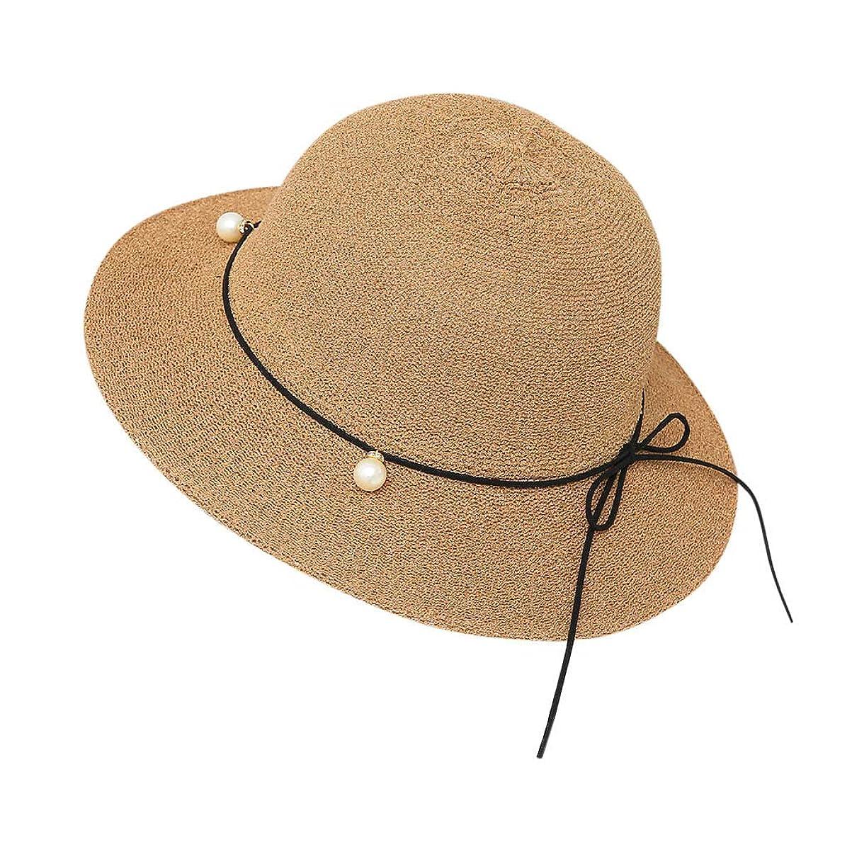 シリング池追記帽子 レディース 夏 女性 UVカット 帽子 ハット 漁師帽 つば広 吸汗通気 紫外線対策 大きいサイズ 日焼け防止 サイズ調節 ベレー帽 帽子 レディース ビーチ 海辺 森ガール 女優帽 日よけ ROSE ROMAN