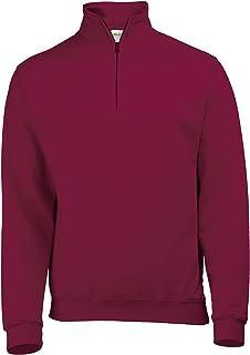 AWDis Mens Plain Sophomore ¼ Zip Sweatshirt