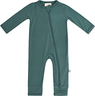 Soft Bamboo Rayon Rompers, Zipper Closure, 0-24 Months