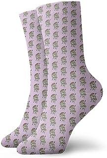 Jhonangel, Equipo de calcetines adictos a la pizza para hombres, mujeres, niños, trekking, rendimiento, exteriores 30 cm / 11.8 pulgadas