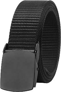Tactical Belts for Men Military Nylon Web Belt Heavy Duty Metal Buckle 1.5 Inch