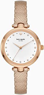 Kate Spade New York Holland Rose Gold Stainless Steel & Leather Watch KSW1402
