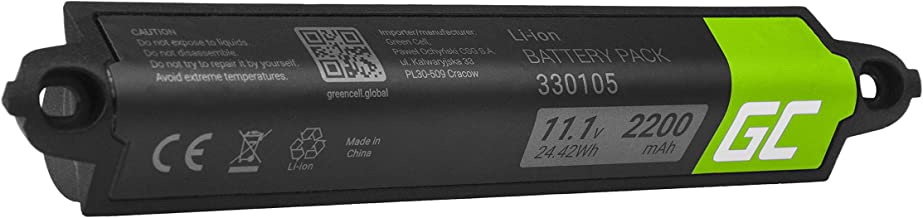 Green Cell® 330105 330105A 330107 330107A 359495 359498 Batería para Bose SoundLink 404600 Bluetooth I II III (Li-Ion Celdas 2200mAh 11.1V)