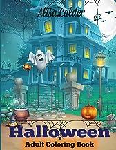 Download Halloween Coloring Book: Halloween Adult Coloring Book (Happy Halloween Designs) PDF