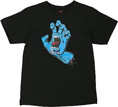 Santa Cruz Camiseta niño Screaming Hand Negro