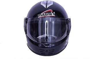 Magnet Full Face Helmet Black Size(580) MM Clear Viser