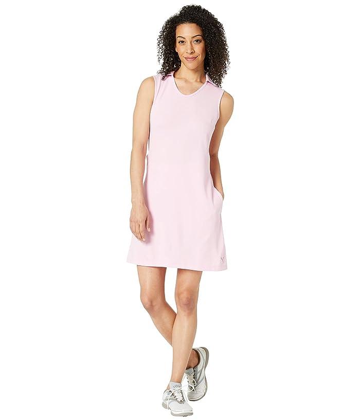 PUMA Golf Fair Days and Fairways Dress (Pale Pink) Women