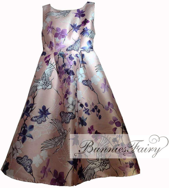 Women Vintage Retro Flower Floral Print Vest Dresses Sleeveless ONeck