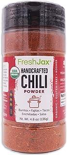 Sponsored Ad - FreshJax Premium Gourmet Organic Spice Blends (Handcrafted Spicy Organic Chili Powder)
