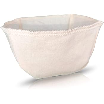 Cloth Reusable Basket Coffee Filter (Size #2) - Made in Canada of Hemp and Organic Cotton - Zero Waste, Eco-Friendly, Natural Filter for Drip Coffee Makers