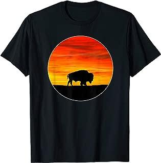 Buffalo American Bison T-Shirt Mountain Life Western
