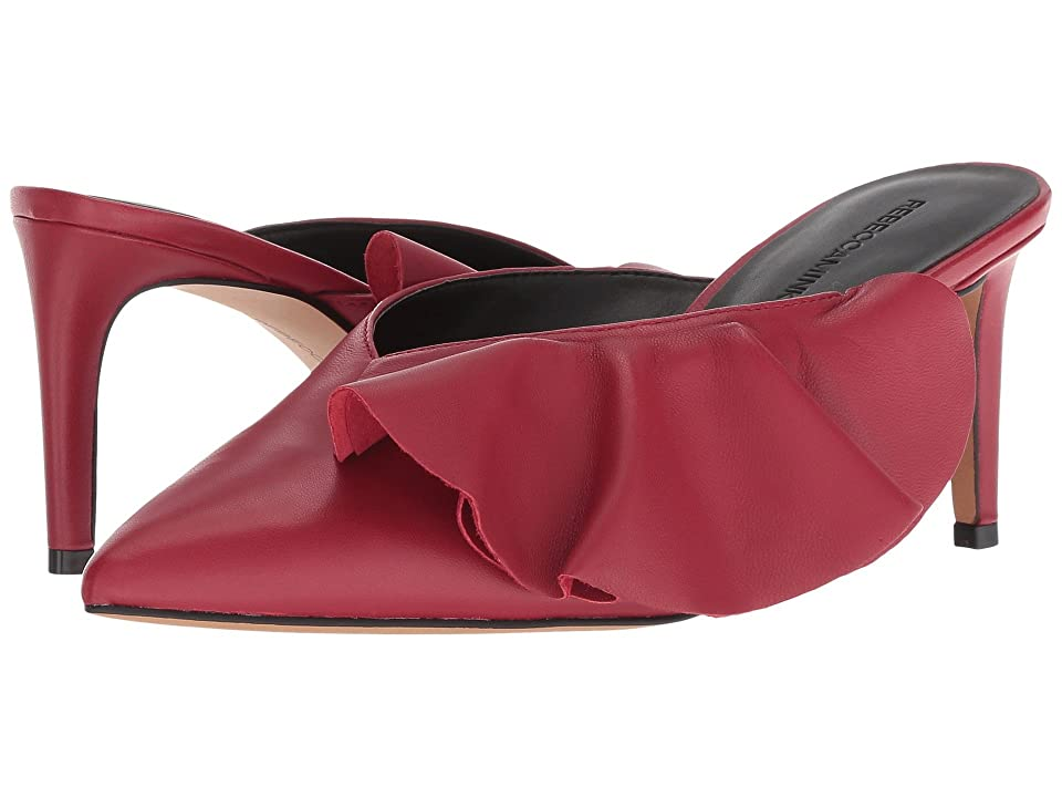 f0a41d486cfb Rebecca Minkoff Giov (Scarlet Leather) Women s Slip-on Dress Shoes