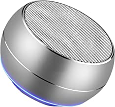 SMQHH Portable Bluetooth Speakers, Portable Bluetooth Speakers 4.1 Speaker Aluminum with Loud Stereo,Rich Bass Surround,Ho... photo