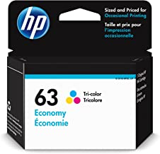 HP 63   Ink Cartridge   Tri-Color   Economy Size   1VV44AN