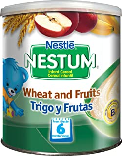 Gerber Baby Cereal Nestle Nestum Wheat And Fruits, 12 Count