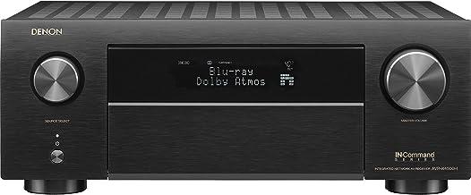 Denon AVR-X4500H 9.2CH High Power 4K Ultra HD AV Receiver Cutting Edge Home Theater with HEOS and Amazon Alexa Voice Contr...