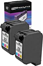 Speedy Inks Remanufactured Ink Cartridge Replacement for HP23 (Tricolor, 2-Pack)