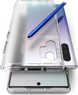 Ringke Fusion No-Smudge Matte Case Made for Both Galaxy Note 10 Plus and Galaxy Note 10 Plus 5G, Anti Fingerprint Frost PC Case for Galaxy Note 10+ (2019) - Translucent