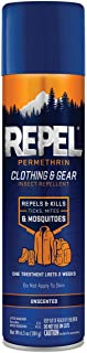 Repel Permethrin Clothing & Gear Insect Repellent, Aerosol, 6.5-Ounce