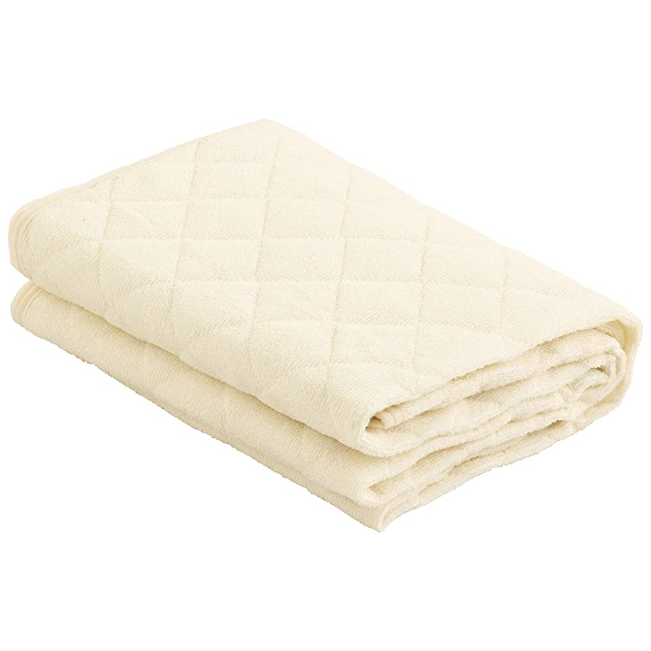 汚物モールオデュッセウスEiYU 敷きパッド シングル 防水仕様 丸洗いできる アイボリー