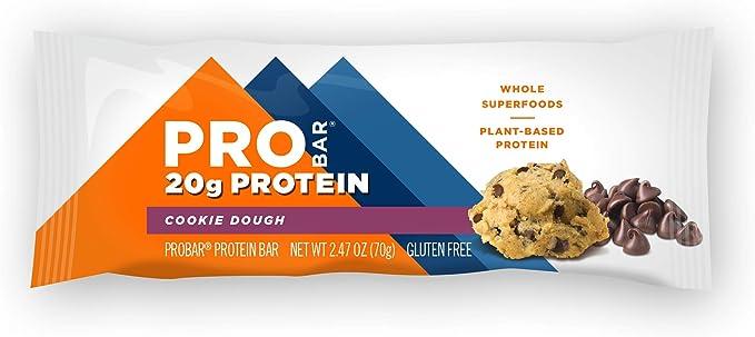 Pro Bar – Barras de proteína Core caja masa de galletas