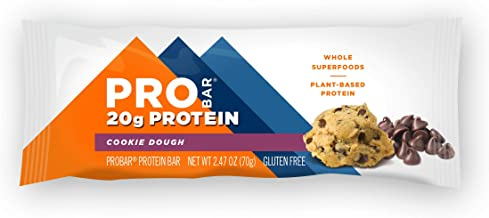 Pro Bar Protein Bar Cookie Dough 12 Bars Estimated Price : £ 56,36