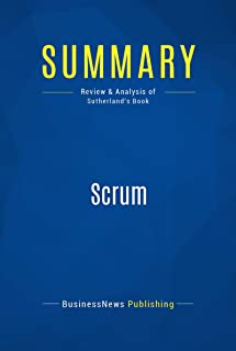 scrum book summary
