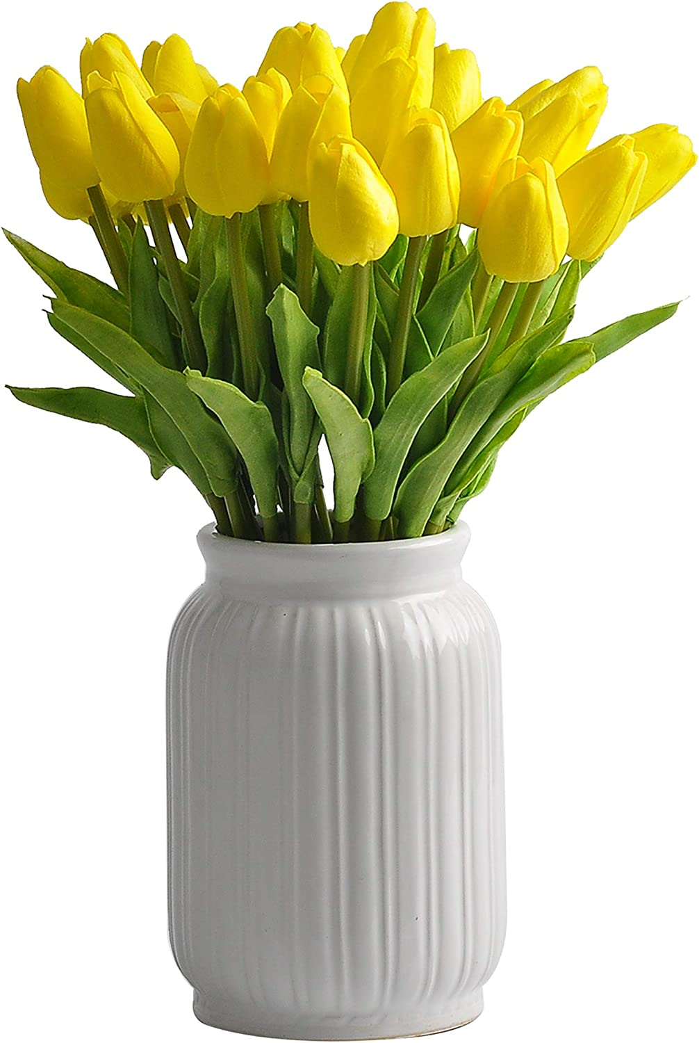 cn-Knight 30pcs Artificial Tulip Ranking TOP1 Real Courier shipping free H Flower Wedding for Touch
