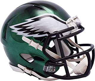 Riddell Philadelphia Eagles Chrome Alternate Speed Mini Football Helmet - NFL Mini Helmets