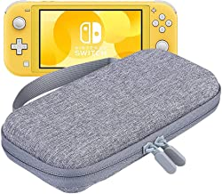 Slim Case for Nintendo Switch Lite, Jugaad Life Portable Switch Lite Carrying Case Travel Game Bag with 8 Game Cartridges Waterproof Shockproof