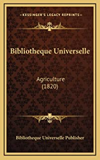 Bibliotheque Universelle: Agriculture (1820)