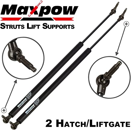 Maxpow 2Pcs 4535 Rear Liftgate Tailgate Hatch Lift Supports Struts Fits For 2001-2007 Chrysler