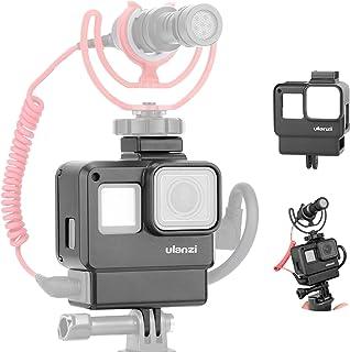 جراب ULANZI V2 من Vlogging مزود بميكروفون لتثبيت الحذاء البارد متوافق مع إكسسوارات كاميرا جو برو هيرو 7 6 5 ميكروفون محول ...