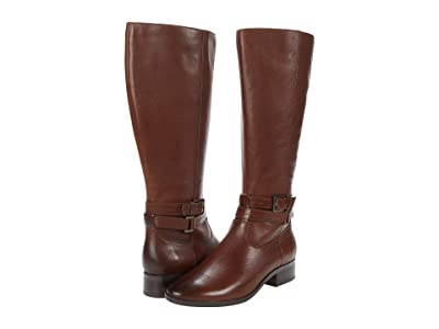 Naturalizer Reid Wide Shaft (Cinnamon Leather) Women