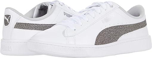 Puma White/Gray Violet