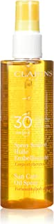 Clarins SPF 30 Sunscreen Care Oil Spray, 5.0 Ounce