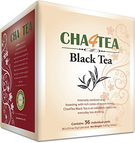 lowest Cha4TEA online 36-Count Black Tea high quality Pods for Keurig K-Cup Brewers outlet online sale