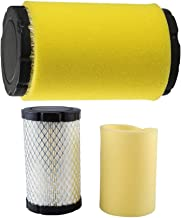 Podoy 793569 Air Filter for Briggs & Stratton GY21055 with Pre Filter 793569 Replace John Deere GY21055 MIU11511 Rotary 12673