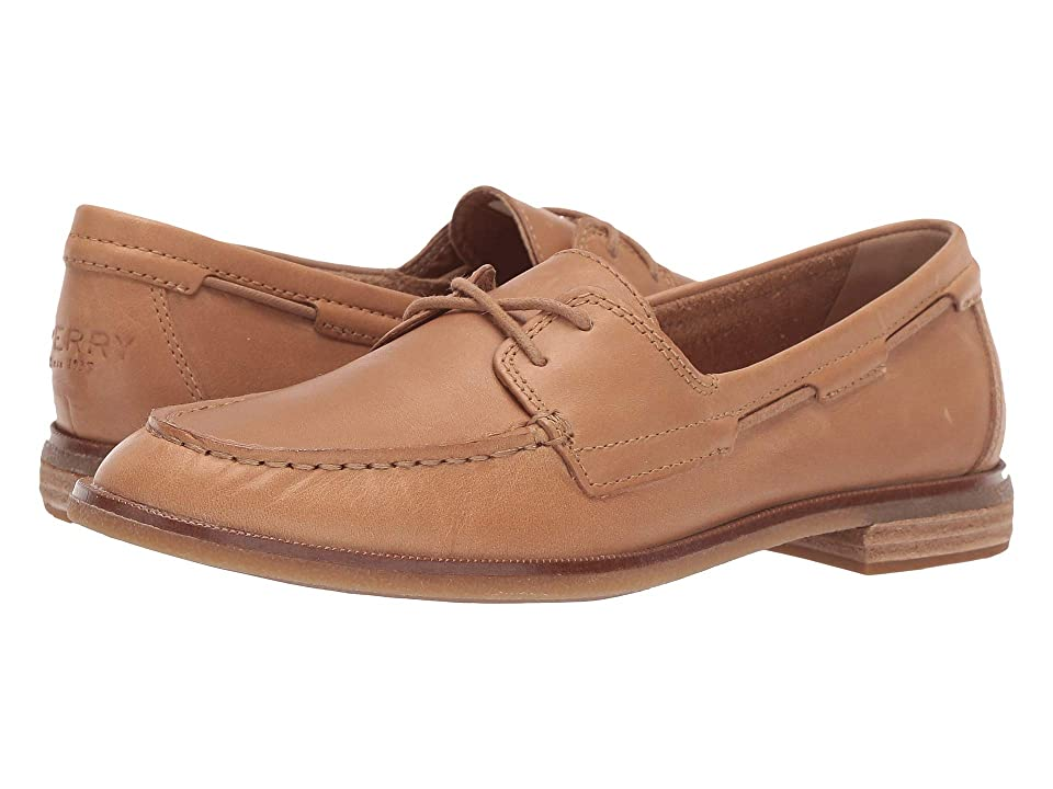 Image of Sperry Seaport Boat (Light Peanut) Women's Shoes
